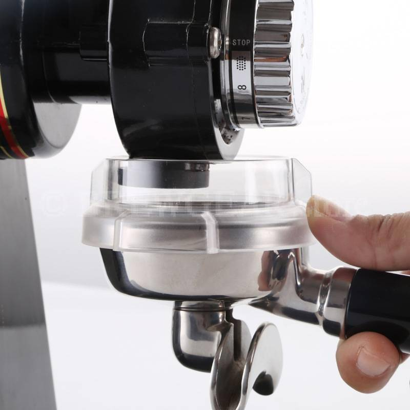 Transparent 58MM Intelligent Dosing Ring For Espresso Brew Gear Coffee Tampers Espresso Tools